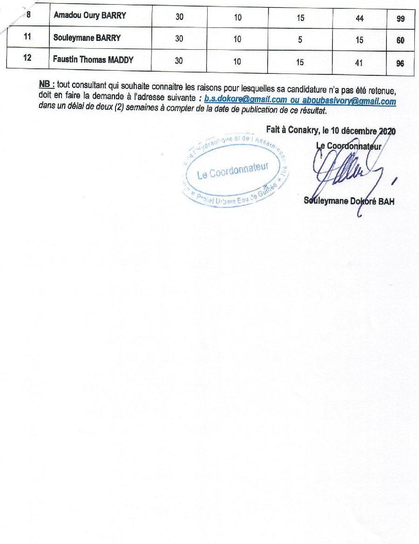 Appels d'offres en guinée - PUEG - p2
