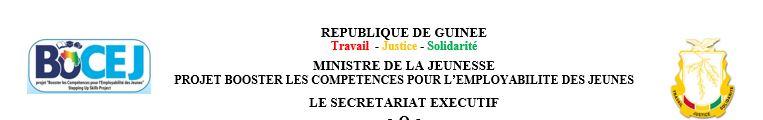 Offres d'emplois en guinée - BOCEJ